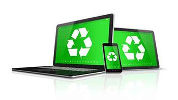 reciclaje de equipos electronicos: ordenadores, móviles y tablets