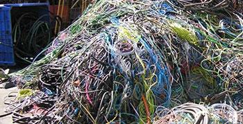 reciclaje de material electrico