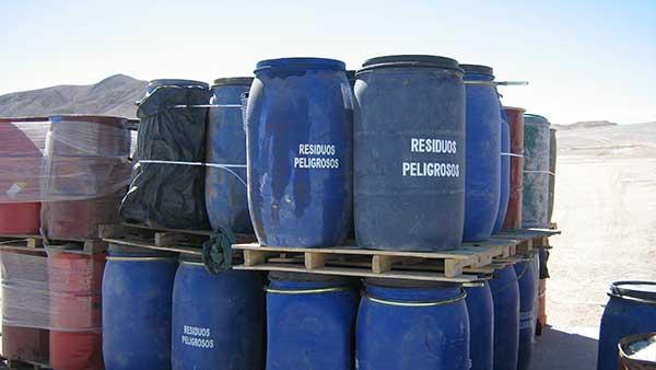 Recogida de residuos peligrosos en Madrid